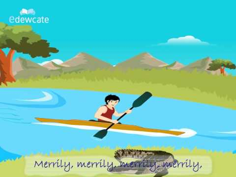 Edewcate english rhymes – Row row row your boat