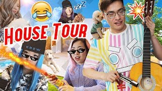 KREW House Tour! Ft. Doggos