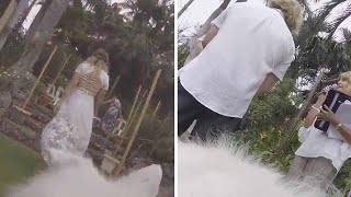 Couple Let Dogs Film Their Wedding On GoPro Cameras
