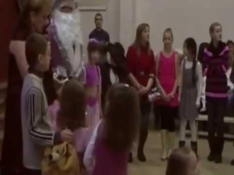 Новогодняя ёлка в школе Варавиксне