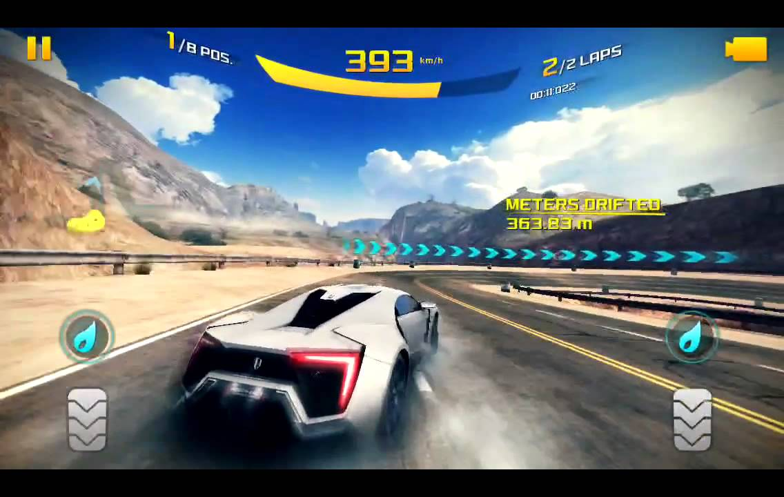 Asphalt 8 Addiction Lykan HyperSpot  Fastest Car in