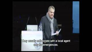 Ioannis John Kent at the Greece Google Travel Forum, February 2012 , with english subtitles