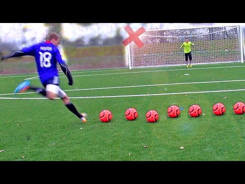 Testing Messi Boots: 2014 F50 Samba Test - Free Kick Review by freekickerz