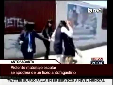 Nuevo vídeo de pelea entre escolares impacta por tratarse nuevamente en Antofagasta