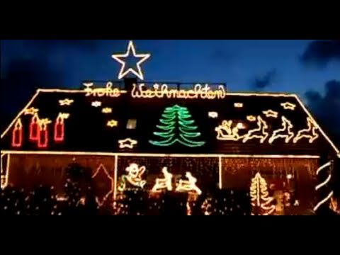 lichterkette weihnachtsbeleuchtung haus das lichterhaus in hamminkeln youtube. Black Bedroom Furniture Sets. Home Design Ideas