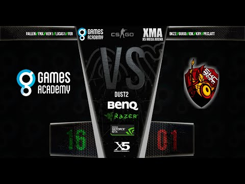 X5MA - Grupo A - Games Academy vs SKC Gaming (Jogo 1)