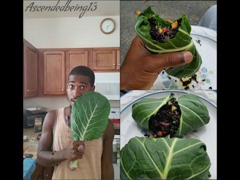 Raw Vegan Food Recipe |Black Rice Burrito Wrap
