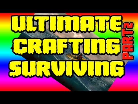 Crafting and Building Guide -Stranded Deep- Rock Shards/Spear/Hammer/Knife/Axe/Fishing/Fire Pit/Spit
