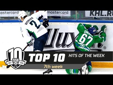 17/18 KHL Top 10 Hits for Week 7