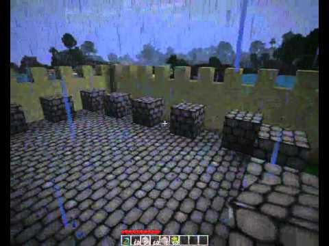 Видео как сделать замок Майнкрафт