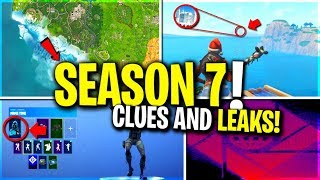 SEASON 7! NEW LEAKED SKINS and AIR VEHICLE? CHRISTMAS A.I.M. SKIN THEORY...MAP CHANGES?