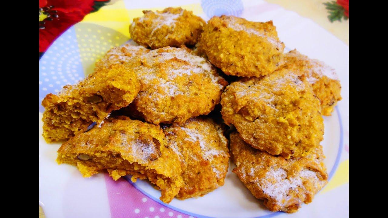 Тыквенные печенье рецепт
