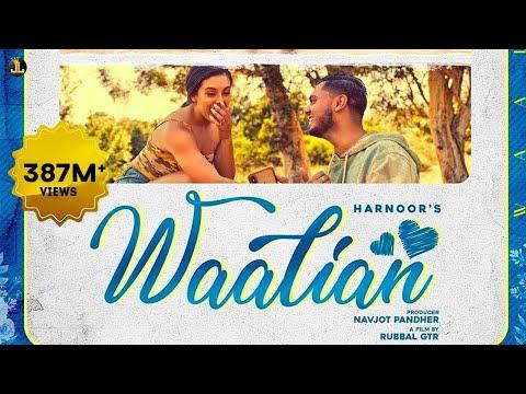 Waalian | Official Video | Harnoor | Gifty | The Kidd | Rubbal GTR  | Latest Punjabi Songs 2020 |