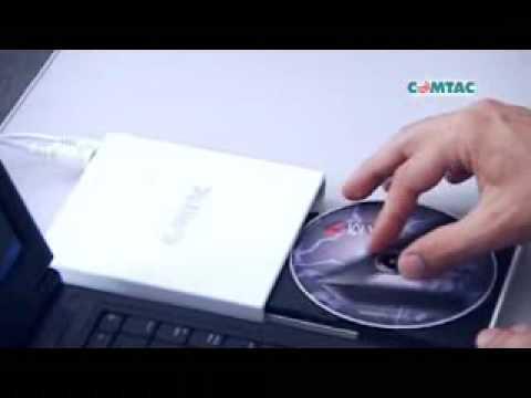 COMTAC TV - Leitor e Gravador de CD / DVD externo Comtac