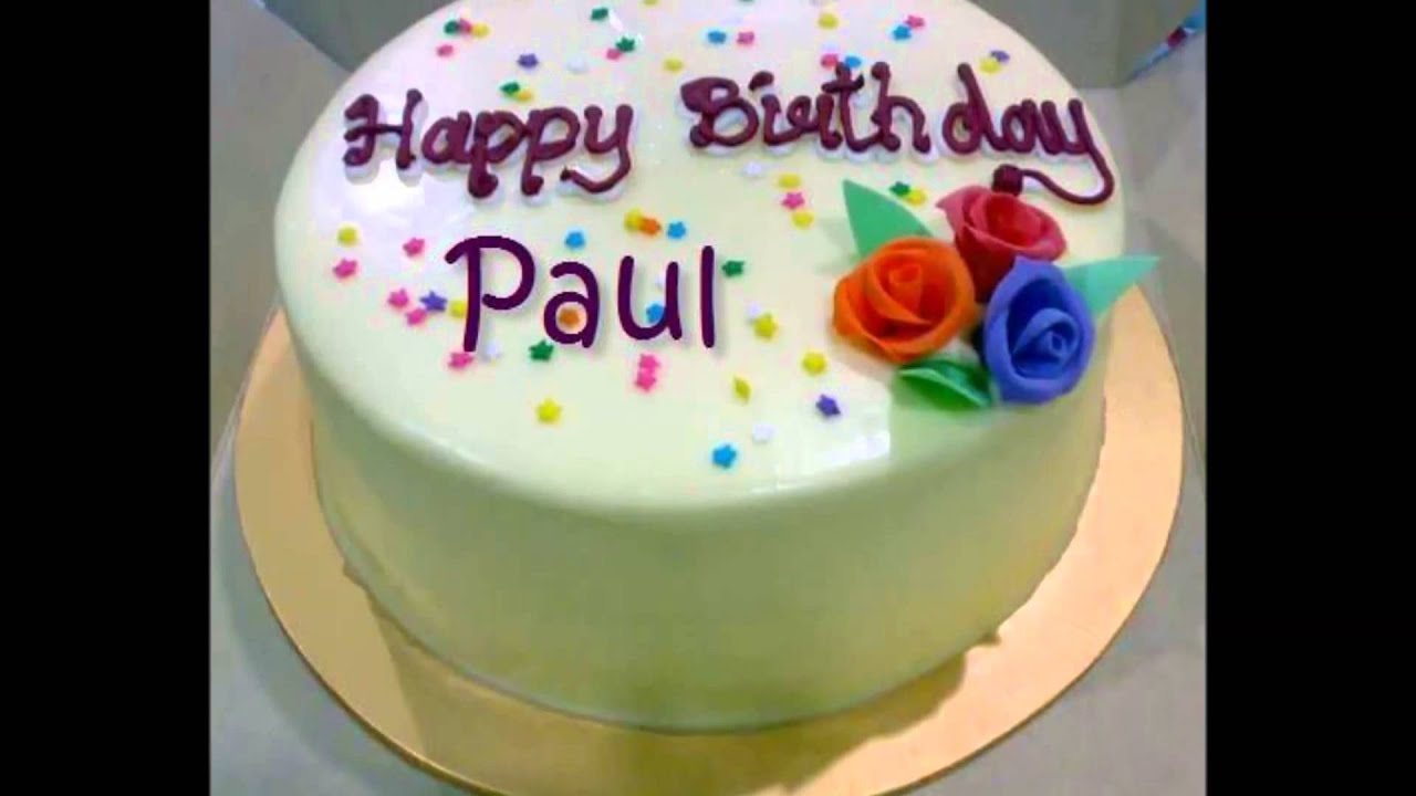 Image Result For Happy Birthday Paul Cake Images