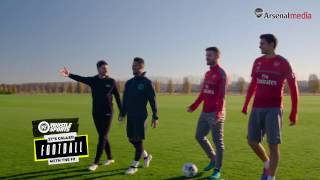 Arsenal challenge the F2 Freestylers