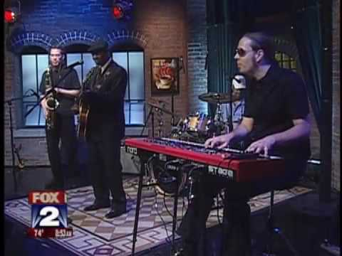"Johnnie Bassett performing ""A Woman's Got Ways"" on Fox 2 News"