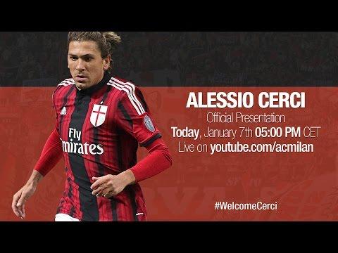Alessio Cerci - Presentazione Ufficiale | AC Milan Official