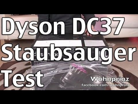 Offizieller Dyson DC37 Animal Turbine Test - Tierhaare bye bye