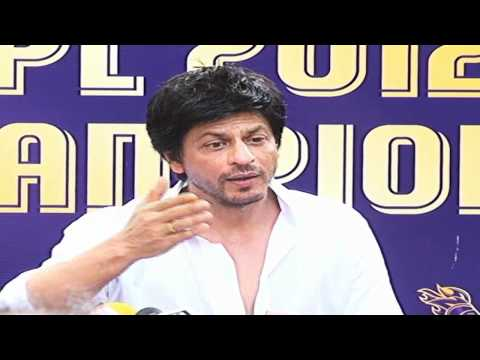 Watch Shahrukh Khan's Press Conference On KKR Victory Unplugged