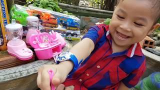 Trò Chơi Bé Làm Đầu Bếp ❤ ChiChi ToysReview TV ❤ Đồ Chơi Trẻ Em Baby Doli
