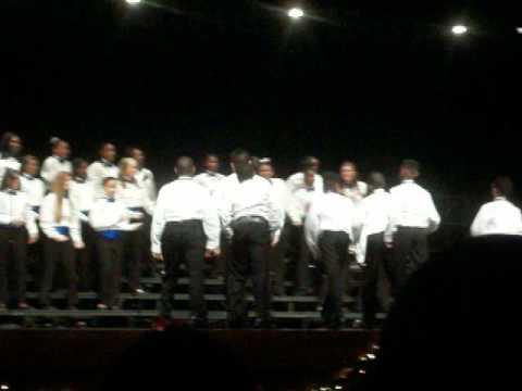 Dent Middle School Winter Concert Finale.