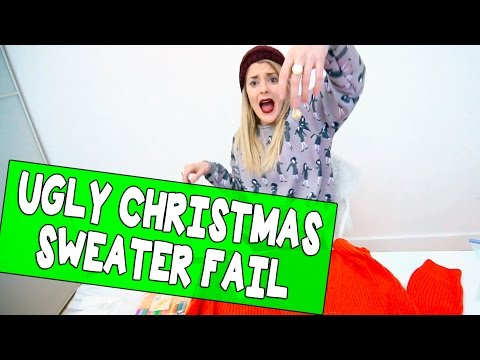 UGLY CHRISTMAS SWEATER FAIL // Grace Helbig