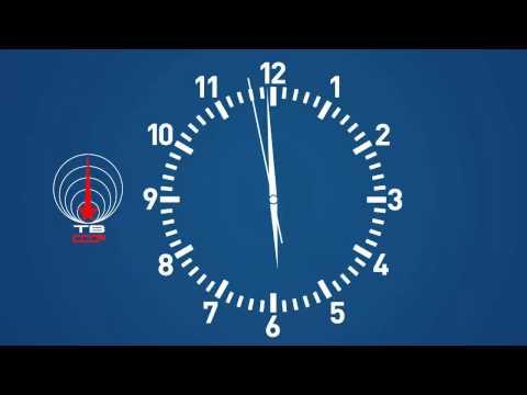 Реставрация заставки информационной программы Время ЦТ СССР (1970-1975)
