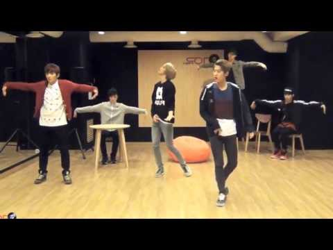 Teen Top 'Lovefool' mirrored Dance Practice
