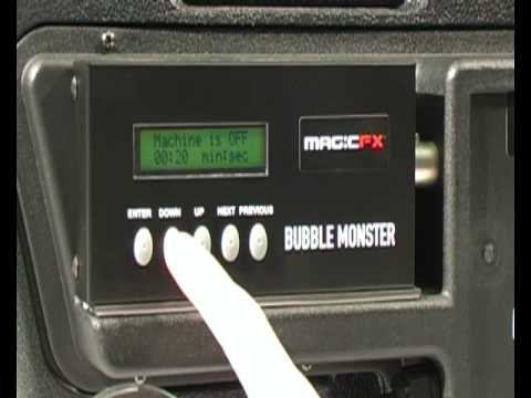 Magic FX Bubble Monster