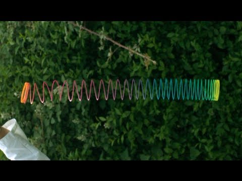 How a Slinky falls in Slow Motion - The Slow Mo Guys