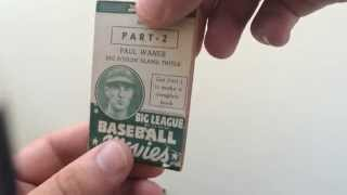 Paul Waner Flipbook Big League Baseball Movies