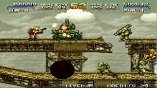 РЕТРО-ШПИЛЬ! Metal Slug: Super Vehicle-001 (arcade) CO-OP