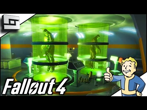 Fallout 4 Gameplay - VIRGIL'S SERUM! Ep 40