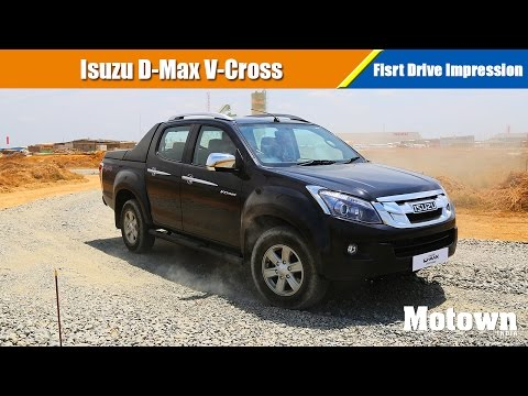 Isuzu D-Max V-Cross   First Drive Impression   Motown India
