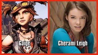 Characters and Voice Actors - Borderlands 2 Updated