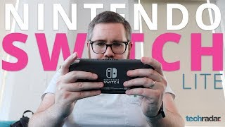 HANDS ON with the NEW Nintendo Switch Lite!