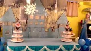 Decoraci  N Con Globos De Frozen 02 49