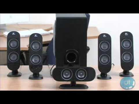 Logitech X-530 PC Speakers Review