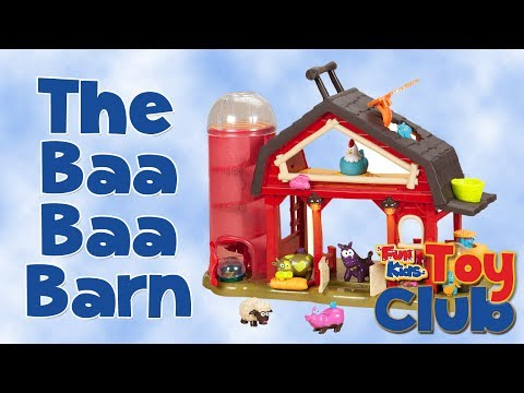 The Baa-Baa Barn from John Crane Unboxing & Toy Review