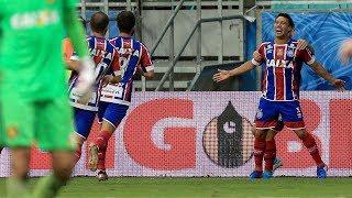 Bahia 1 X 0 Sport. Final da Copa do Nordeste. Gol de Edigar Junio (25/5/2017)