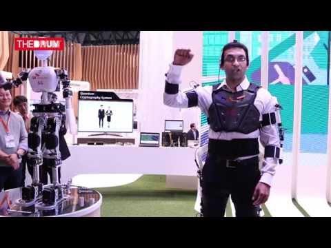 MWC 2015: Google's Kiran Mani goes robot at SK Telecoms stand