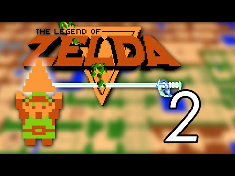 Let's Play The Legend of Zelda [2] Running everywhere
