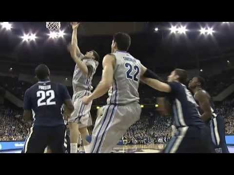 Creighton Men's Basketball vs. Villanova Highlights 2-16-14