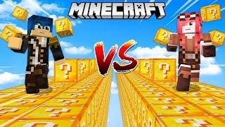 Minecraft ITA - STEF VS PHERE CON I LUCKYBLOCK!
