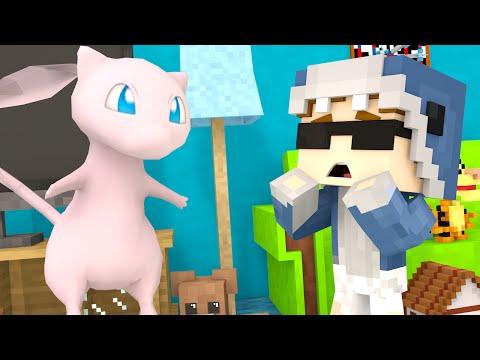 Minecraft School-CATCHING MEW POKEMON GO?! (Minecraft Roleplay)