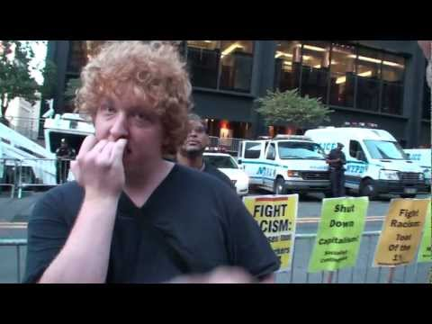 Former Soviet Citizen Confronts Socialists at Occupy Wall Street (Part 1, full version)