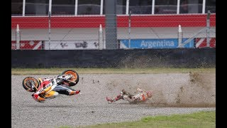 MotoGP 2017 All Crashes Compilation