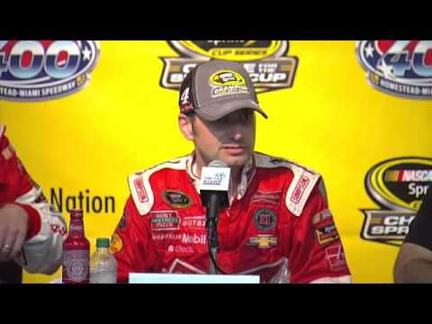 Kevin Harvick Tony Stewart Gene Haas 2014 Sprint Cup Champion