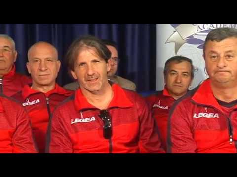 Spazio Dilettanti di TELEFOGGIA ospite del Foggia Calcio Over 40. Tra gli ospiti Luigi Agnelli